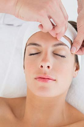 eyebrow waxing training
