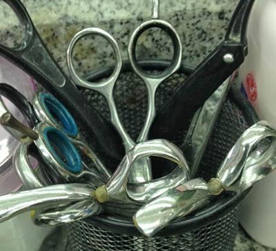 scissor or shears for hair cutting