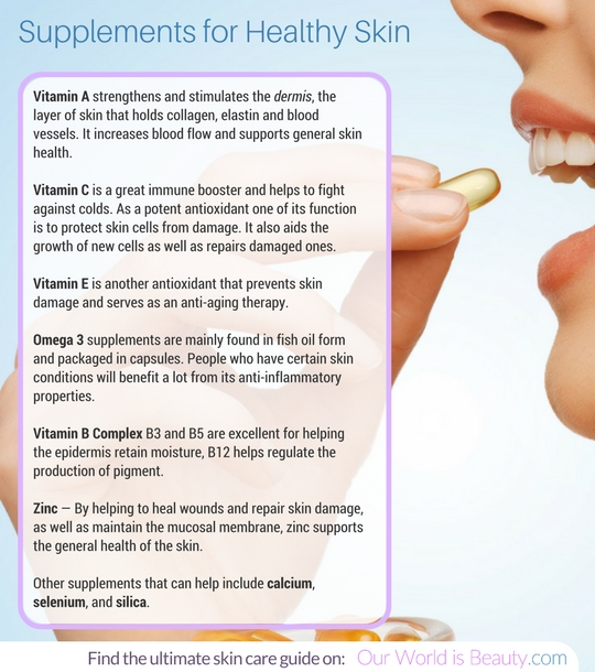 vitamins for your skin